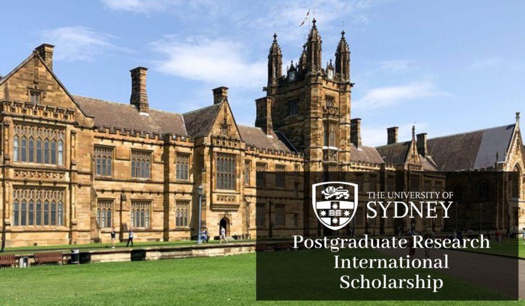 University of Sydney International Scholarship